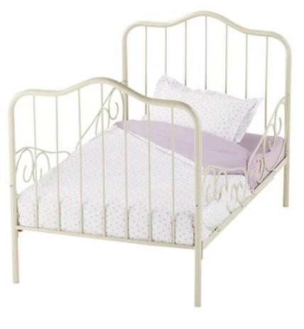 lit fille en fer forg. Black Bedroom Furniture Sets. Home Design Ideas