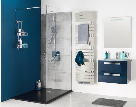 Le choix de la salle de bain sponso la mite orange for Baignoire faience bleue