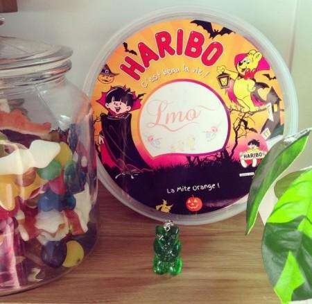 Des bonbons pour Halloween! 10 boîtes personnalisées Haribo à gagner! [Sponso]