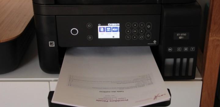 Mon imprimante Epson EcoTank, 3 mois après!