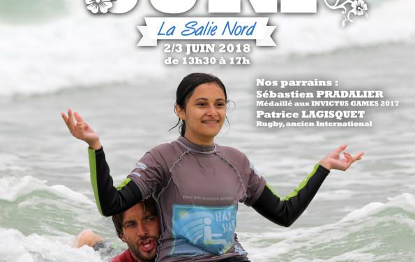AFFICHE HANDI SURF 2018
