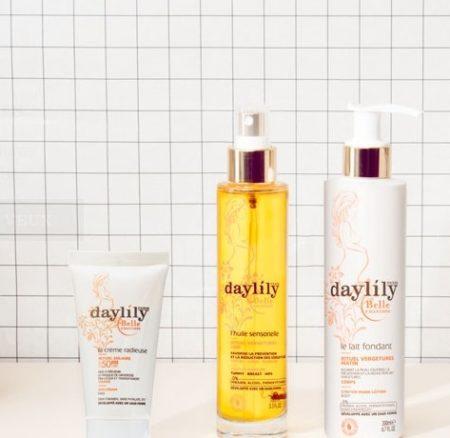 Daylily, les crèmes anti-vergetures qui me donneraient presque envie de retomber enceinte!