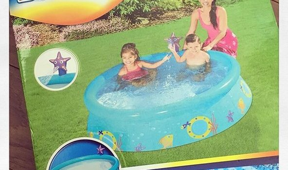 La petite piscine Bestway parfaite pour l'été!