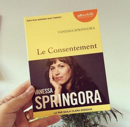 Chronique Prix AUDIOLIB: «Le consentement » de Virginie SPRINGORA